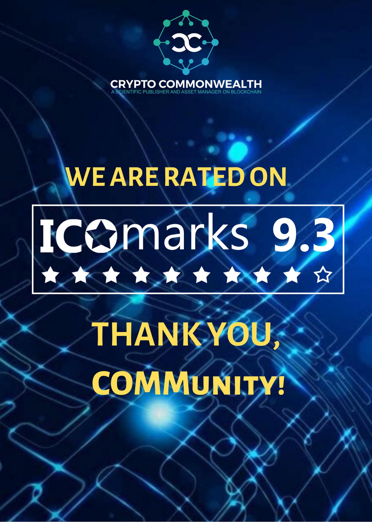 COMM ICOmarks ranking